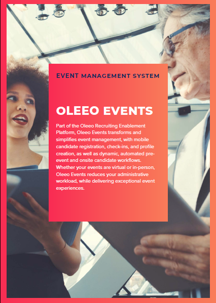 Oleeo Events Cover