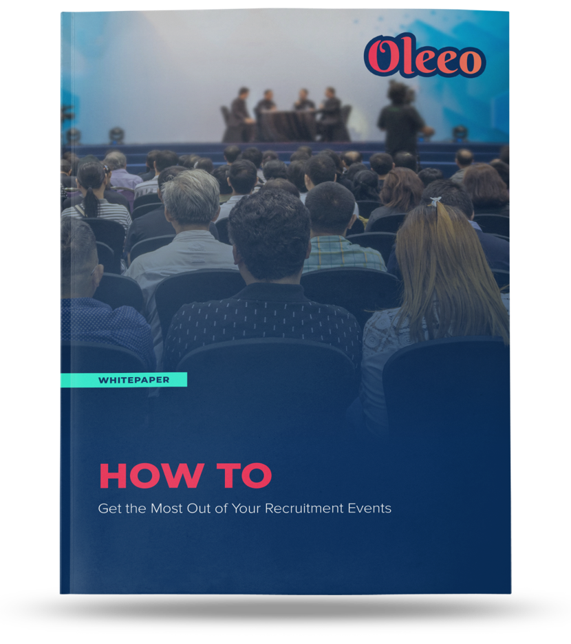 Oleeo Recruitment events Guide Mockup
